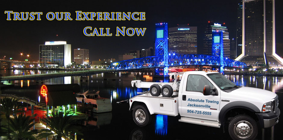 Trust our Years of Experience - Absolute Towing in Jacksonville, FL